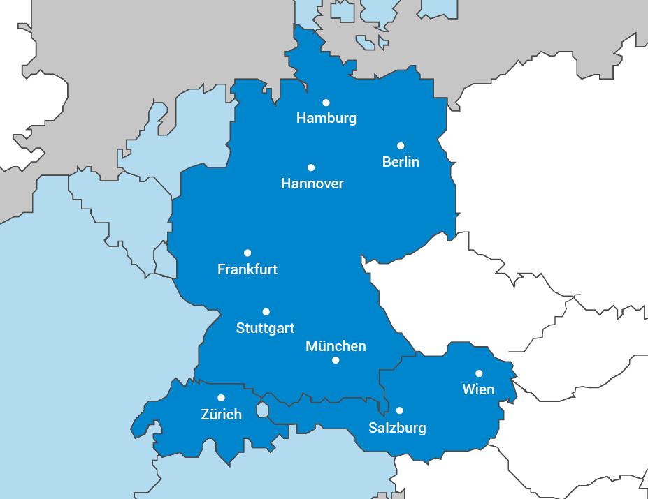Für Sie im Einsatz, in Deutschland und Europa